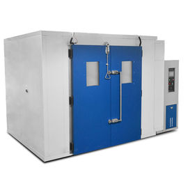 چین High Low Temperature Humidity Walk in Chambers , Environmental Testing Chambers for Rubber تامین کننده